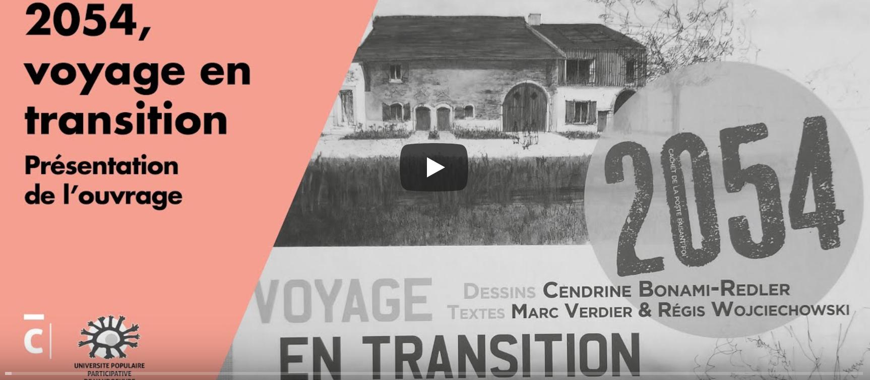 image du film de la conférence 2054 Voyage en trransition